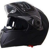 Безопасный мотоцикл Flip Up Шлем точка ECE Moto Motorbike Шлем с внутренним козырьком Sun Hearmets 105