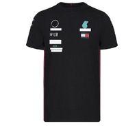 2021F1 T-shirt da corsa Formula Una squadra di auto personalizzabile logo di fabbrica uniforme a maniche corte