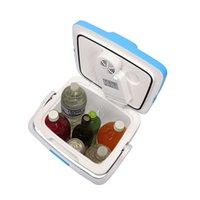 Mini elétrico freezers portátil refrigerador refrigerador mais quente 26L 0.92cuft AC DC sistema termoelétrico