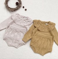 Clothing Sets 2021 Boys Girls 2 Pcs Set Knitted Sweater +Shorts Cotton Autumn Fashion Babys Suits 0-4 Years MY762