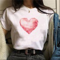 Heart Love Casual Tshirts Women T Shirts Tee Hipster Tumblr Harajuku Clothing