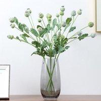 الزهور الزهور أكاليل الحرير ورقة الأوكالبتوس الاصطناعي الأوراق الخضراء لحضور الزفاف الديكور diy اكليلا هدية سكرابوكينغ كرافت أبل pl