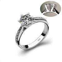 HBP fashion luxury new hand decoration women's Micro set 8-heart 8-arrow super flash 6-claw commemorative 3A zircon ring 823 Q2