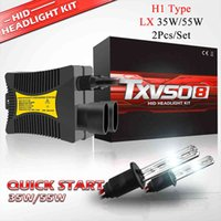 TXVSO8 70W XENON Projecteur H1 HID HID Phare Headlight Kit 2PCS 35W Ampoules avec ballast 3000K 4300K 5000K 6000K 8000K 10000K pour