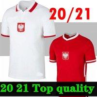 بولندا 20 21 Lewandowski Soccer Jersey Home Away الأحمر الأبيض Milik Pol Piszczek و الفانيلة قمصان كرة القدم