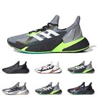أزياء العلامة التجارية X9000L4 الرجال الاحذية basf رمادي ستة بلعل الثلاثي الأسود الرجال في الرياضة أحذية رياضية المدربين تشغيل الأزياء تنفس