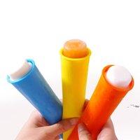 NewsIlicone Mutfak Araçları DIY Popsicle Kalıpları Buz Popping Maker Tüp Tepsi Dondurucu Kalıp Kapakları ile Çocuk Hediye EWD6673