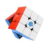 أحدث الأصلي gan356 x v2 3x3x3 المغناطيسي العددية IPG المهنية gan 356 × تحديث 3x3 ماجيك مكعب سرعة ألعاب تعليمية