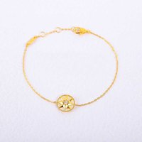 S925 Silver pendant necklace with diamond and shell bracelet for women wedding jewelry gift have box PS4326