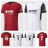 21 22 VALENCIA CF Soccer JERSEYS GAYA GUEDES SOLER RODRIGO 2021 2022 GOMEZ WASS T-shirt de football