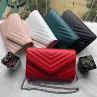 Womens messenger bag Fashion luxurys wallets designers lady Shoulder Totes purse handbags crossbody backpack V-shaped caviar pattern