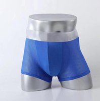 Lujoso diseñador calzoncillos para hombres con letras Marca Mens Boxers Famosos transpirables frescos cómodos Boxers M-2XL 6 Color