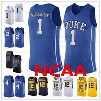 NCAA Basketball Jerseys 1 Williamson 2 Reddish 4 Redick 32 Laettner 11 Jeunes 25 Wade 12 Morant 22 McCall Duke College Leçon Jersey
