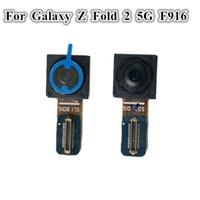 10 adet Orijinal Ön Küçük Kamera Modülü Flex Kabloları Değiştirme Samsung Galaxy Z Katlama 2 5g F916 F9160 W21 Bakan Kablo