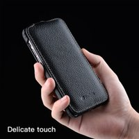 Genuine Leather Flip Phone Case For iPhone 12 Pro Max mini 11 X Xr Xs Max 7 8 SE Business Luxury Real Cow Cases Bag Cover