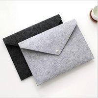 파일 폴더 펠트 홀더 문서 봉투 럭셔리 오피스 튼튼한 서류 가방 문서 가방 종이 포트폴리오 케이스 편지 봉투 LLB10499