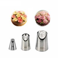 Cake Tools KECTTIO 3PCS set Daisy Flower Cream Cakes Decorating Tips Stainless Steel Icing Nozzles
