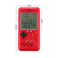 Portátiles portátiles de 3.5 pulgadas Portátiles de mano Tetris Toys Electronic Toys Pocket Classic