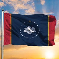 في الله نحن نثق mississippi الدولة العلم 3x5ft راية 150x90 سنتيمتر البوليستر النحاس الحلقات owf6130