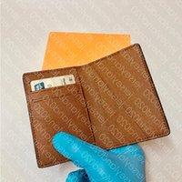 컴팩트 포켓 N63143 패션 남성 M60502 지갑 짧은 럭셔리 여러 동전 키 홀더 카드 Damier 주최자 흑연 캔버스 디자이너 XCWS