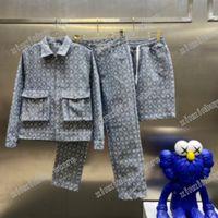 21SS Designer Mens Womens Giacche Pantaloni Pantaloncini Denim Jacquard Wash Man Paris Moda T-shirt T-shirt Tees Street Manica Corta Luxurys Tshirts Bianco nero blu