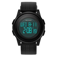 Männer LED Digitaluhr Mode Mann Outdoor Sport Multifunktions Wasserdichte Beständige Uhr Für Jungen Kinder Geschenke Uhren Armbanduhren