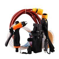 Lavado de autos portátil Agua de alta presión Pistola de pulverización de agua Bomba eléctrica Lavadora