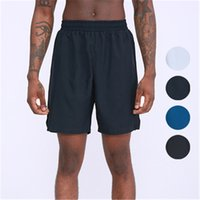 Gym Clothing L108 Men's Sports Fitness Shorts Outdoor Training Running Casual Basketball Pants Five-point Thin Summer