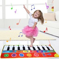 Tapete de dança de piano infantil 148 * 60 cm de tamanho grande brinquedos bebê # 30 tapetes de yoga