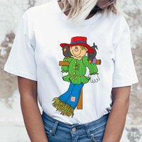 Field Scarecrow Print And Mens T Shirts Womens High Quality Printing Hipster Trick Or Treat Party