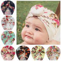 Baby Boys Girls Knot Beanie Cap Hat Headwrap Hair Accessories Infant Toddler Fashion Elastic Turban Hats Bonnet Child Kids