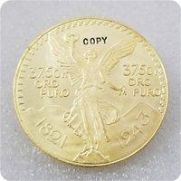 1943 Mexiko 50 Pesos (CENTENARIO) 100. Jahrestag der Unabhängigkeit von Spanien kopieren Münze