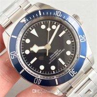 강철 고품질 고급 M79230 자동 이동 스테인리스 붉은 파랑 검은 스포츠 남자 망 시계 시계 86dd