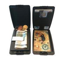 Card Holders Men Business Holder RFID Anti-Theft Bank S ID Case Bag Wallet Money Clip Organizer