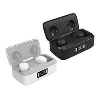 XY-10 TWS True Wireless Ear buds Handsfree Touch Sports Earphone In-ear Headphones With LED Digital Display