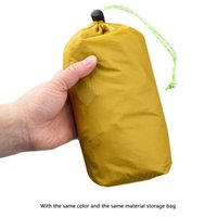 Tents And Shelters 210cm Tent Single Placement Layer Waterproof Protection Net Outdoor Hiking With Storage Bag Camping Portable