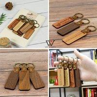 الأزياء الخشب المفاتيح كيرينغ معدن بو الجلود الخشب سلاسل الحلي الشعار مخصص