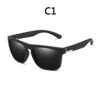 2021 European and American fashion men's polarized sunglasses UV400 classic retro design cycling sports beach travel ladies casual glasses