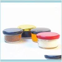 Housekeeping Organization Home & Garden60Ml Bottle Empty Glass Wide Mouth Bottles Honey Jam Packing Jars Kitchen Storage Container1 Drop Del