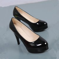 Dress Shoes Women Pumps Woman's Heels Plus Size 41 42 2021 Sexy Platform Black Womans Ladies Wedding Female Office
