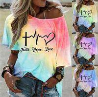 T-shirt de T-shirt surdimensionné de taille supérieure femme à moitié manches harajuku graphic streetwear t-shirt femme vêtements d'été t-shirts