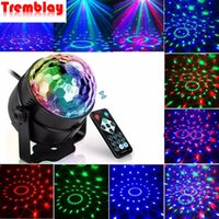 Sound Activated Rotating Disco Light Colorful LED Stage Light 3W RGB Laser Projector Lamp DJ Party Light for Home KTV Bar Xmas