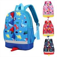 Moda Bambina Ragazzi Ragazze Bambini Dinosauro Pattern Animali Pattern Backpack School Bag School Outdoor per