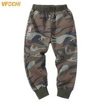 Vfochi Boys Pants Spring Verano Summer Camuflaje delgado Pantalones para niños 4-14T Ropa adolescente Lápiz de cintura elástica 210803