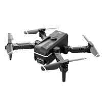 KK1 Global Drone 4K двойной HD камера мини-автомобиль WiFi FPV складной профессиональный вертолет Selfie дроны игрушек для ребенка с аккумулятором