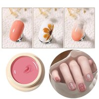 Gel per unghie 5ml Polish Asciugatura rapida Asciugatura a lunga durata Tinta unita Chiaro Vernice Vernice Mousse UV per manicure
