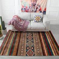 Carpets Morocco Style Carpet And Rug Living Room Vintage Persian Geometric Home Decor Sofa Tapete Bedroom Kitchen Non-Slip Floor Mats