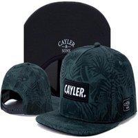Neueste Arriva Cayler Söhne Wolle Ahornblätter Baseball Hut Herren Hüte Cap Bones ABA Reta Casquette Snapback Caps Letzter König Snap Zurück Keisebol