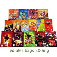 2021 Doritos Esvazios Cheetos Doweedos Maylar Sacos Edibles Sacos 500mg Queijo Chip Gummi Worm Packaging Saco