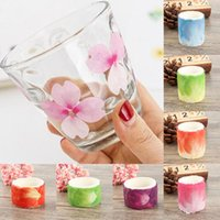 Creative Hand Account Tape Sakura Flower Petals Stickers Dec...